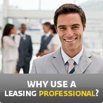 why use a leasing professional?